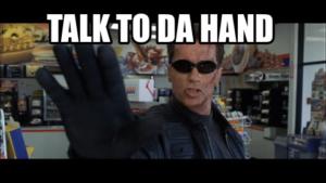 Hand meme