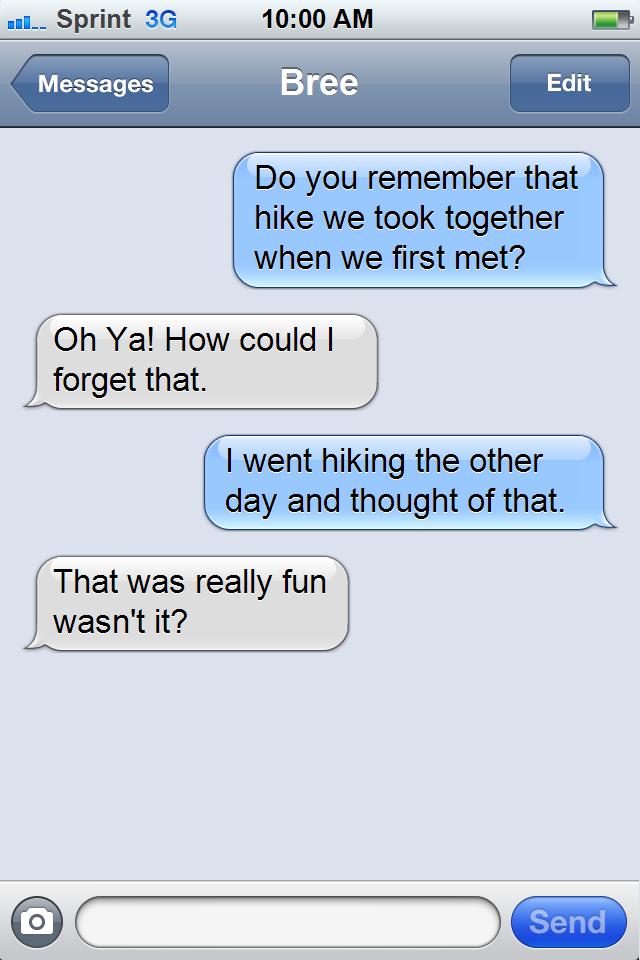 Hiking Beispiel